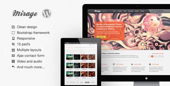 Mirage WordPress Version