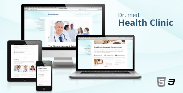 HC – Responsive Medical & Health WordPress Theme