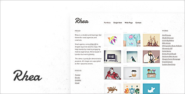 Rhea WordPress