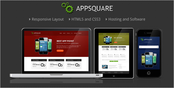 AppSquare – Software and Hosting WordPress Theme