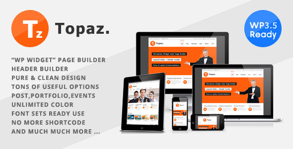 Topaz – Responsive Multi-Purpose Theme