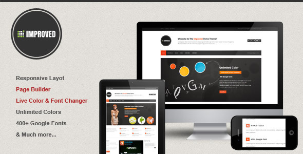 Improved – Multipurpose WordPress Theme
