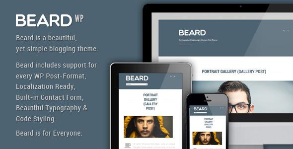Beard – Responsive WordPress Theme