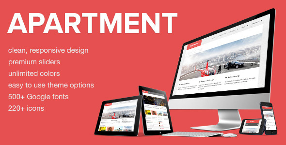 Apartment – Responsive & Retina Ready