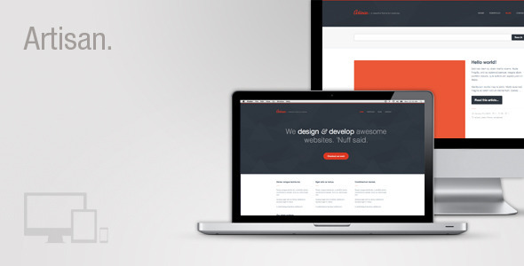 Artisan – Creative Responsive WordPress Theme