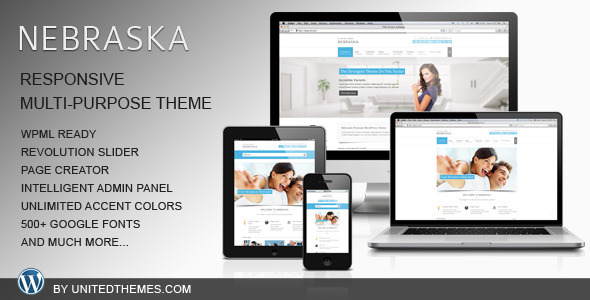 Nebraska – Responsive Multi-Purpose Theme