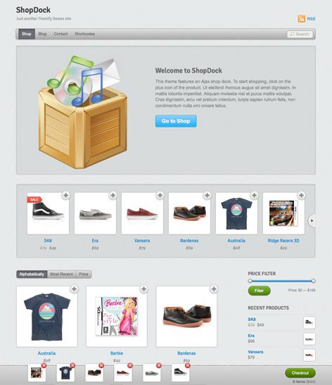 ShopDock – Ajax eCommerce Theme