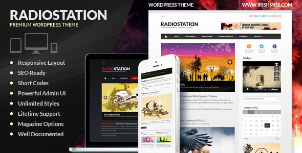 Radio Station – Premium WordPress Theme | The Best Free and ...