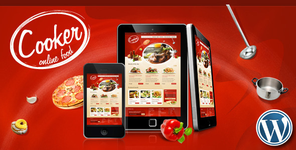 Cooker – Online Restaurant, Food Store