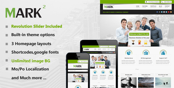 Mark2 Multi-Purpose WordPress Theme