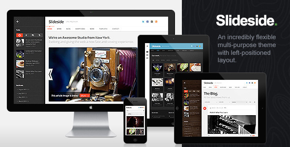 Slideside – Responsive Multi-Purpose Theme