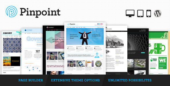 Pinpoint – Responsive Multi-Purpose WP Theme