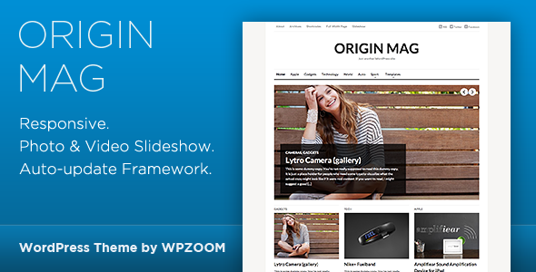 OriginMag – WordPress Magazine Theme