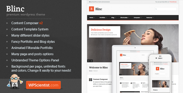 Blinc – Premium WordPress Theme