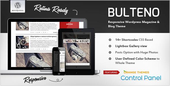 Bulteno – Responsive News/Magazine Theme
