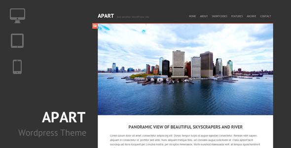 Apart – Responsive WordPress Theme
