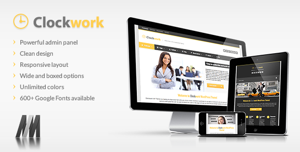 Clockwork WP – Responsive Business Theme