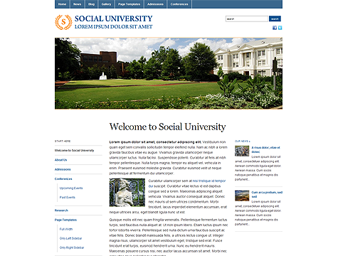 Academica  WordPress Theme Free Download