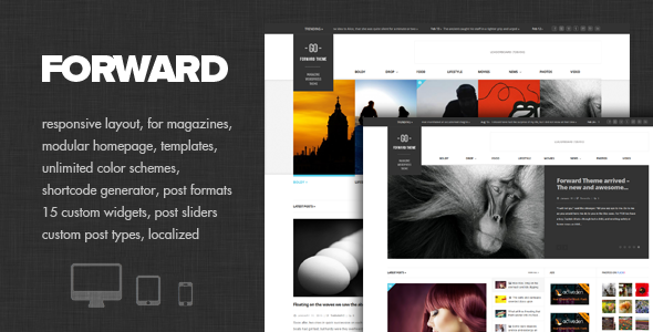 Forward – Modular Magazine Theme
