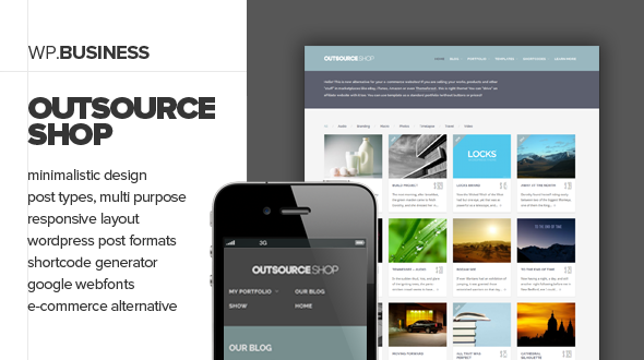 Outsource – Responsive Business Theme