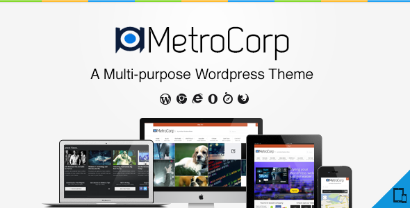 MetroCorp – A Multipurpose Business Theme