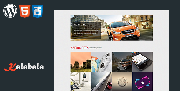 Kalabala – WordPress Responsive Theme
