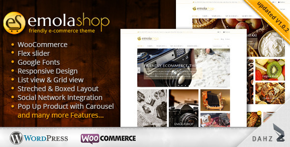 EmolaShop – A Friendly WordPress eCommerce Theme