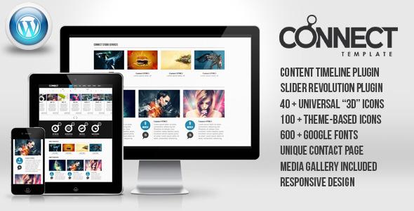 Connect – WordPress Responsive Theme