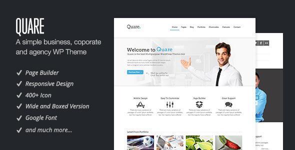 Quare – Responsive Multi-Purpose Theme