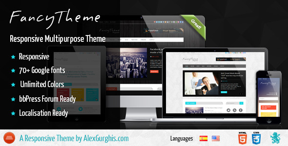 FancyTheme – Multipurpose WordPress Theme