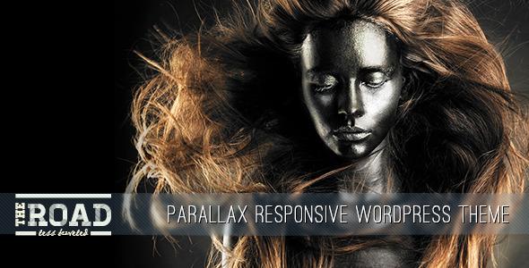 The Road – Parallax Responsive WordPress Theme