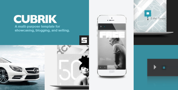 Cubrik Responsive WordPress Theme