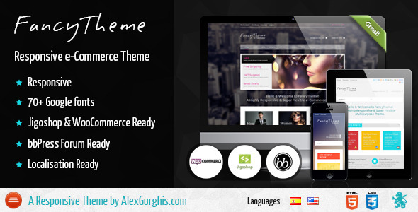 FancyTheme – e-Commerce WordPress Theme