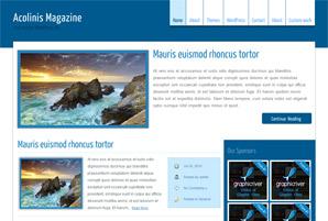 Acolinis  WordPress Theme Free Download
