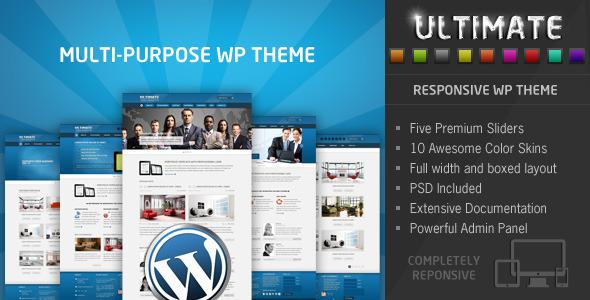 Ultimate – Multi Purpose Responsive WP Theme