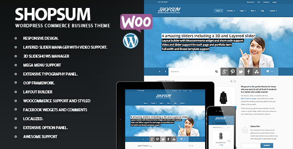 Shopsum – Responsive Commerce Business Solution