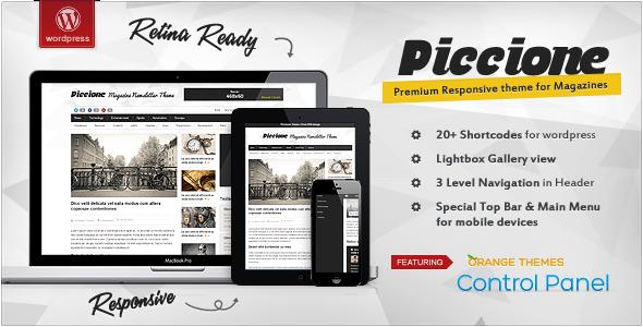 Piccione – Responsive News/Magazine Theme