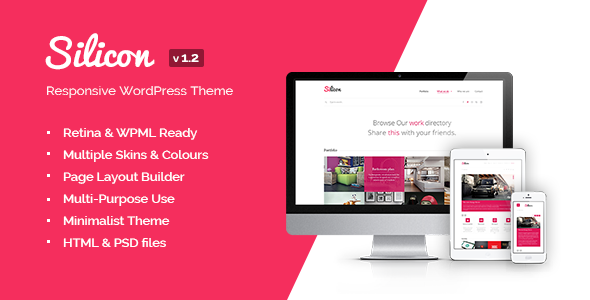 Silicon – Responsive WordPress Theme