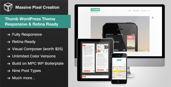 Thumb WordPress Theme – Responsive & Retina Ready