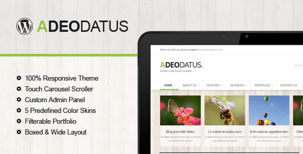 Adeodatus – Responsive Business Theme