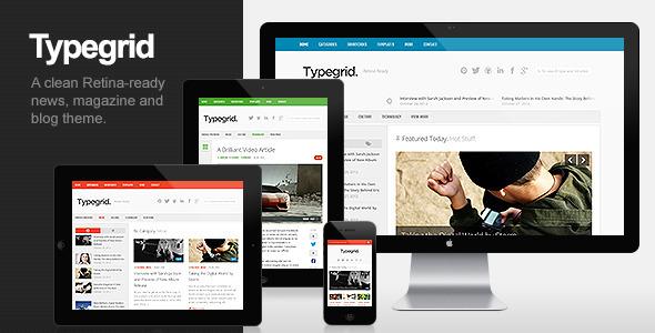 Typegrid – Responsive News & Magazine Theme