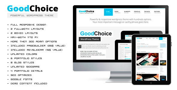 GOODCHOICE – Responsive Multi-Purpose Theme