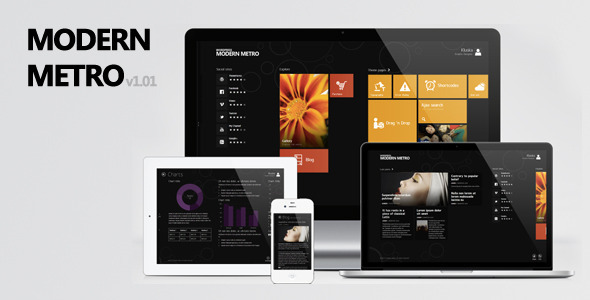 Modern Metro – Responsive WordPress Theme