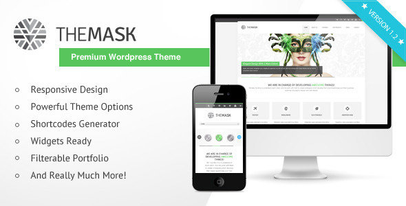 The Mask – Premium WordPress Theme