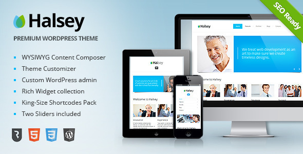 Halsey – Ultimate Business WordPress Theme