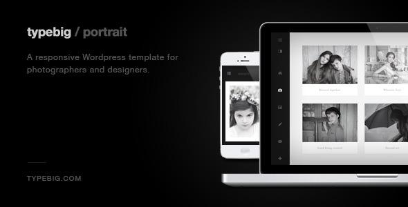Portrait – Retina Ready Responsive WordPress Theme