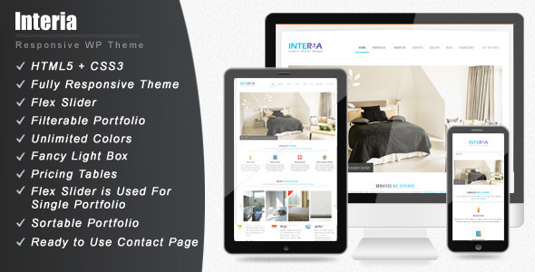 Interia – Responsive WordPress CMS Theme