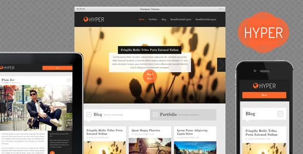Hyper, a Responsive WordPress Theme