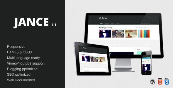 Jance – Blogging Theme – WordPress