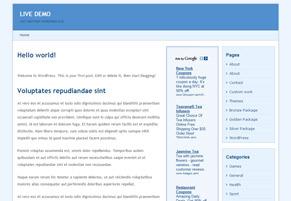 Adsenser  WordPress Theme Free Download